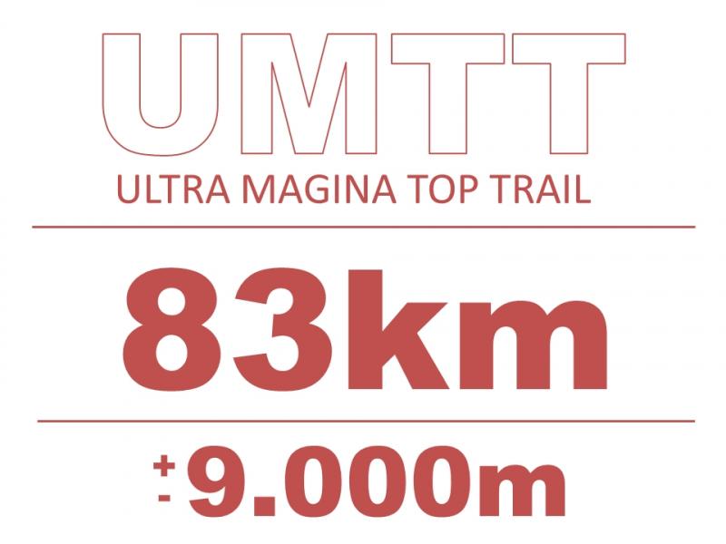 Cartel del evento ULTRA MAGINA TOP TRAIL 2020
