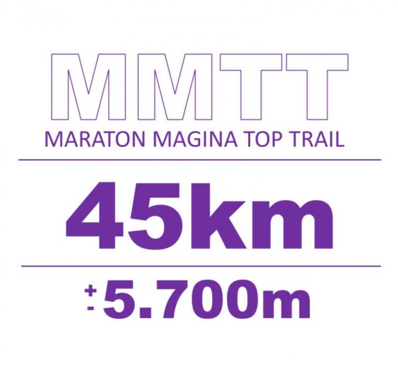 Cartel del evento MARATON MAGINA TOP TRAIL 2020