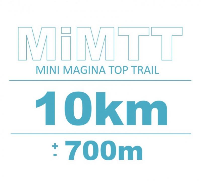 Cartel del evento MINI MAGINA TOP TRAIL 2020