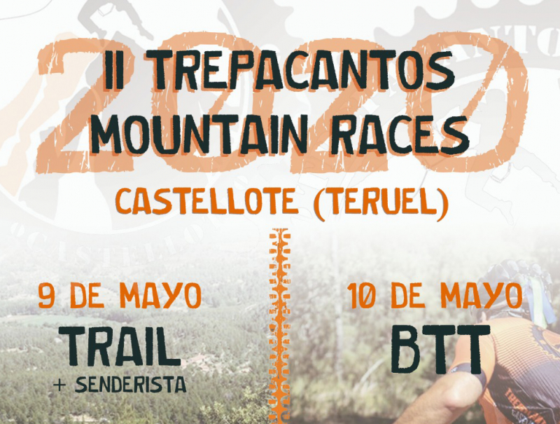 Cartel del evento TREPACANTOS MOUNTAIN RACES 2020