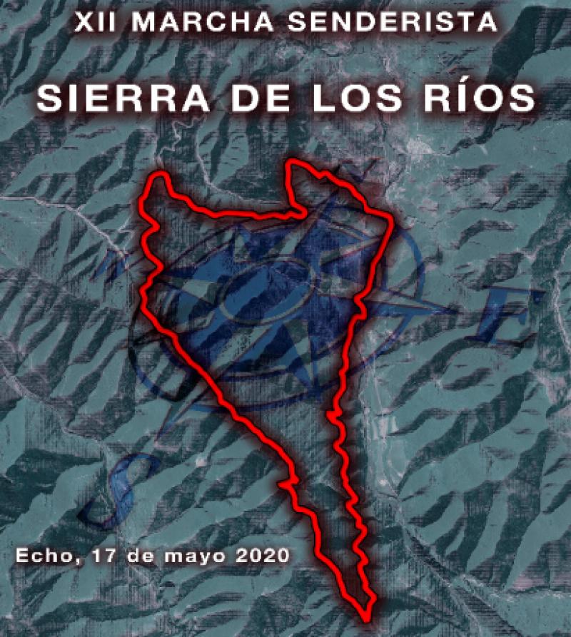 Cartel del evento XII MARCHA SENDERISTA SIERRA DE LOS RIOS