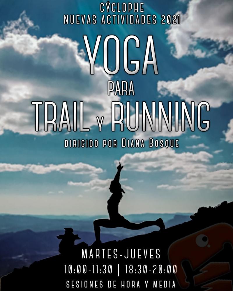Cartel del evento YOGA PARA TRAIL Y RUNNING